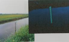 量水標(河川等の水位計)