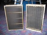 セルボックスの取外し、汚れの程度、種類に応じて飛散防止の処置をします。
